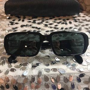 Vintage Versace black sunglasses